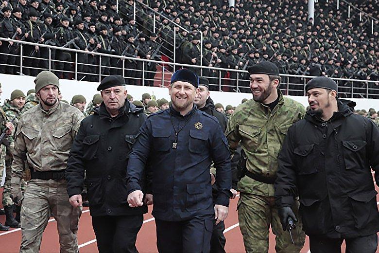 Эксперт: Нацгвардии о Путина Кадырова. указ лишил