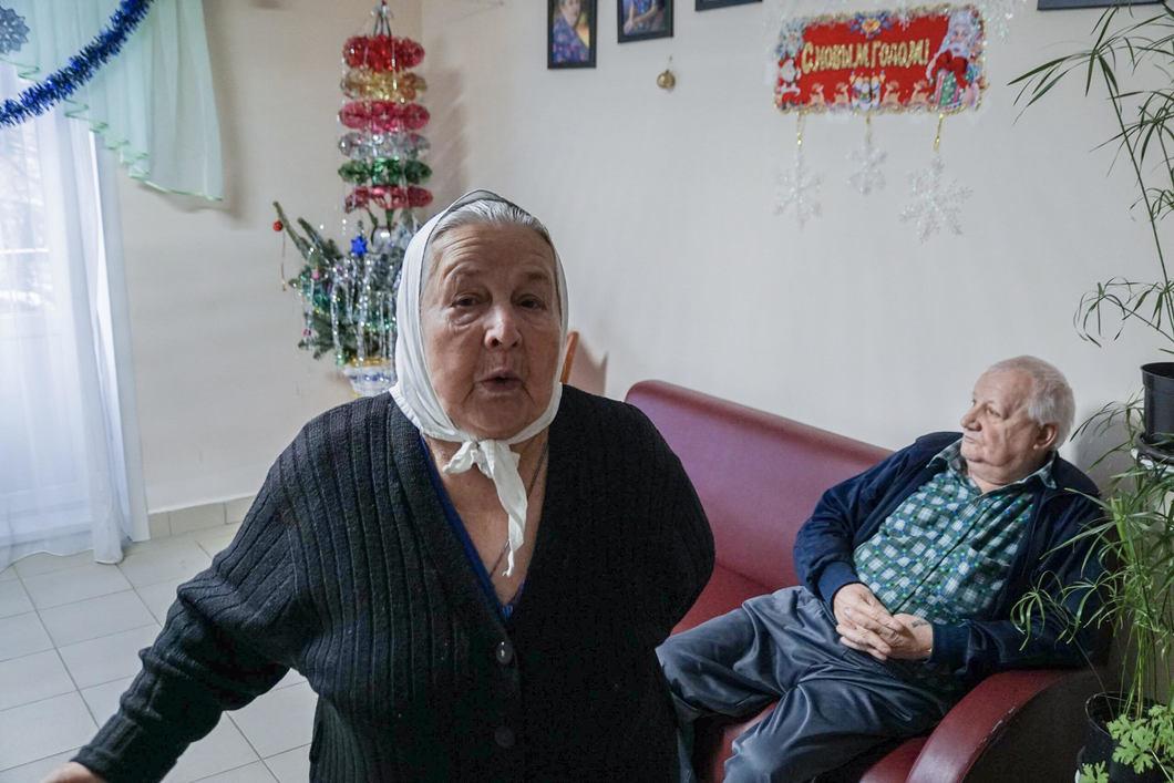проблема в домах престарелых