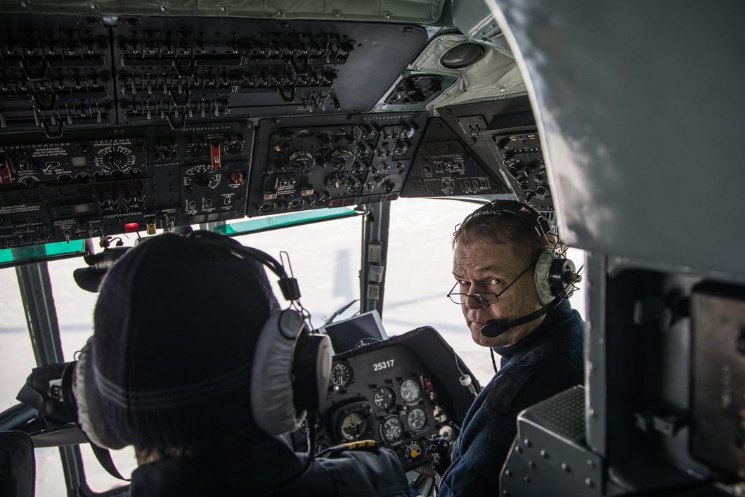 вертолета фото пилот