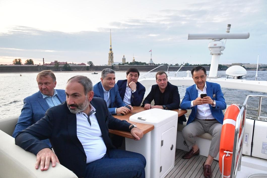 Встреча представителей стран ЕАЭС. Фото: РИА Новости