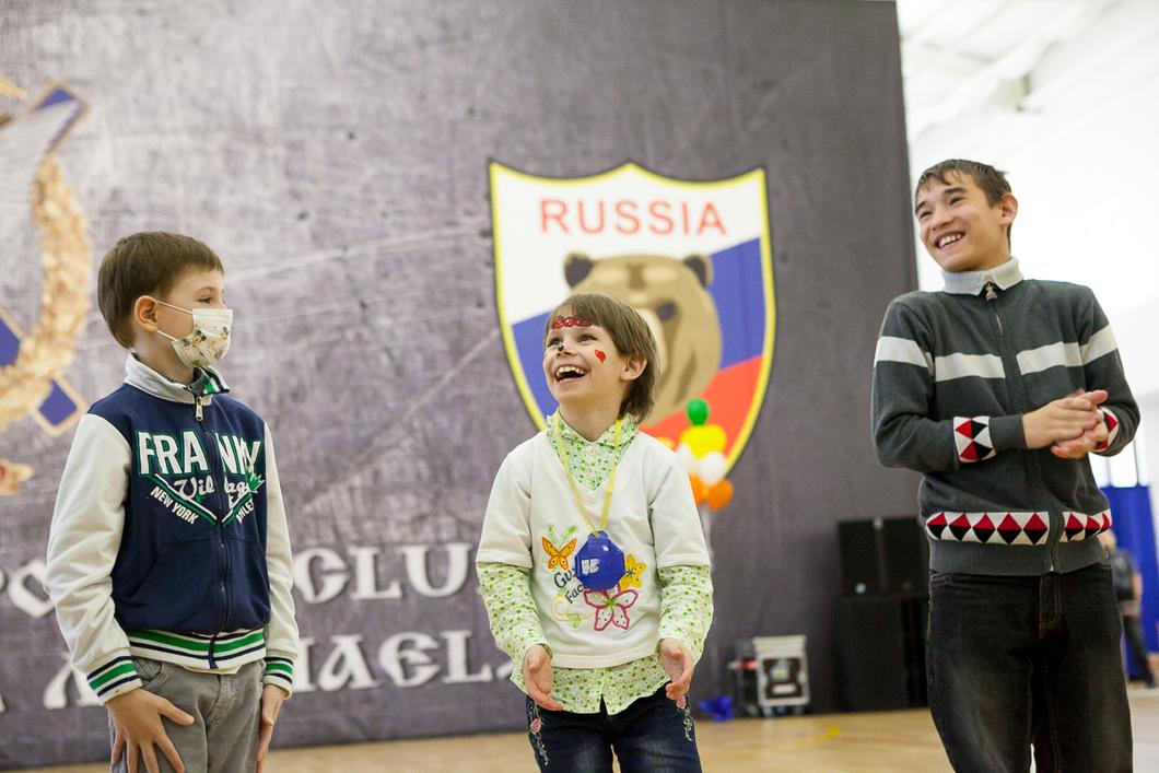Карабашские детдомовцы побывали на празднике РМК «Весенняя карусель»