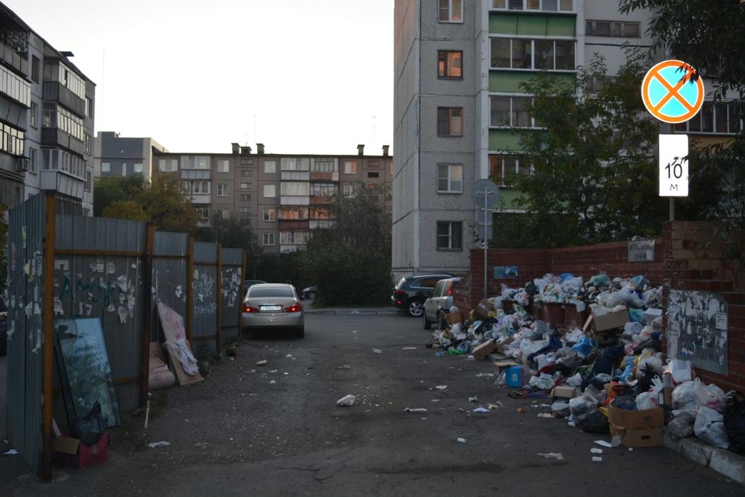 Челябинск погряз в мусорных отходах