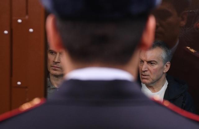 Бизнесмены братья Магомедовы в суде. Слушается дело о продлении их ареста. Фото: РИА Новости