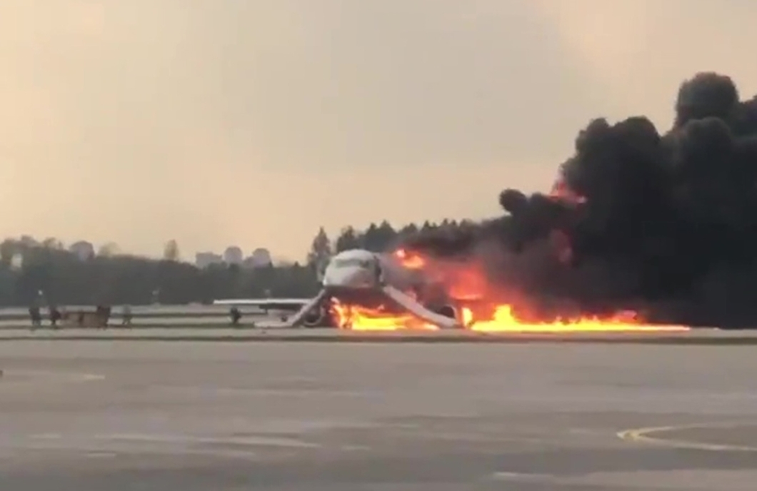 Страшная авария Superjet в Шереметьево унесла жизни 41 человека