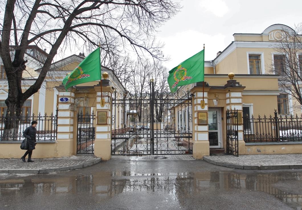 Вид на резиденцию патриарха в Чистом переулке в Москве. Фото: РИА Новости
