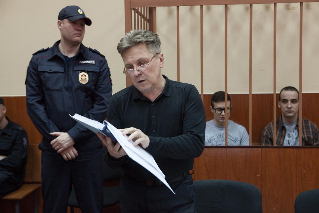 Адвокат Виктора Филинкова Виталий Черкасов