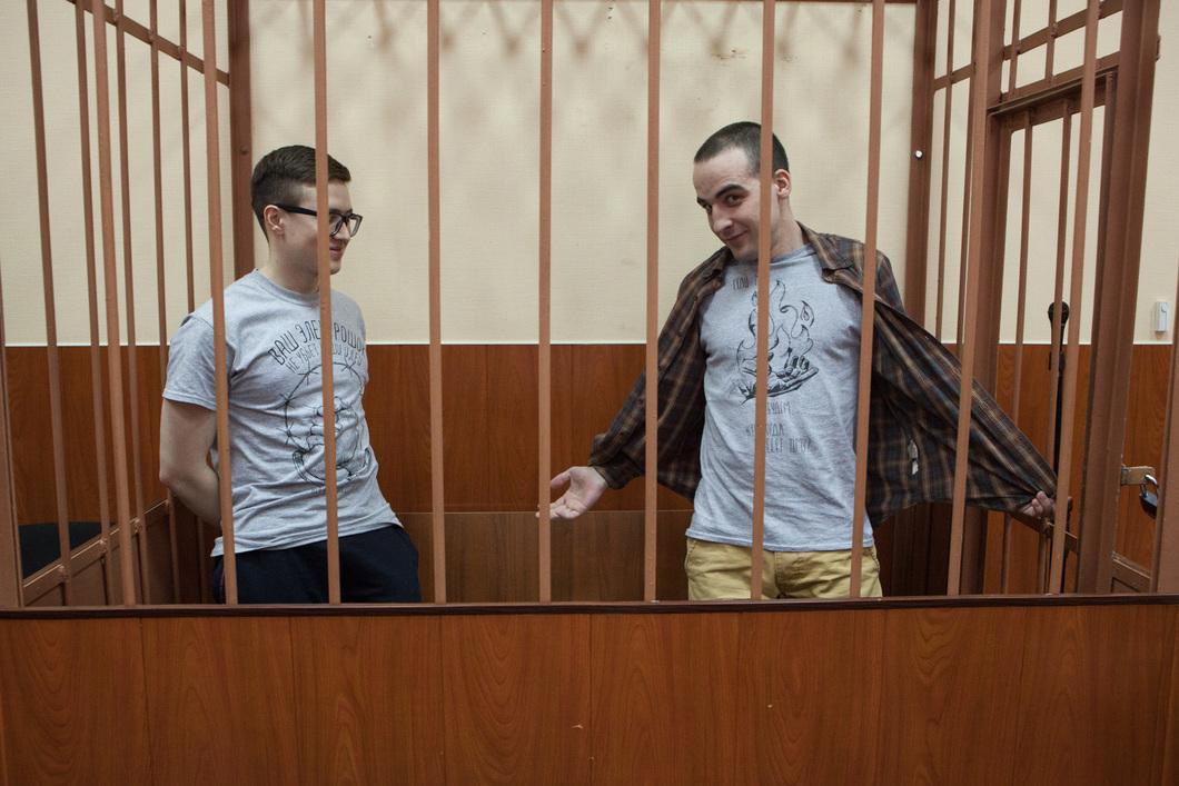 Виктор Филинков (слева) и Юлиан Бояршинов