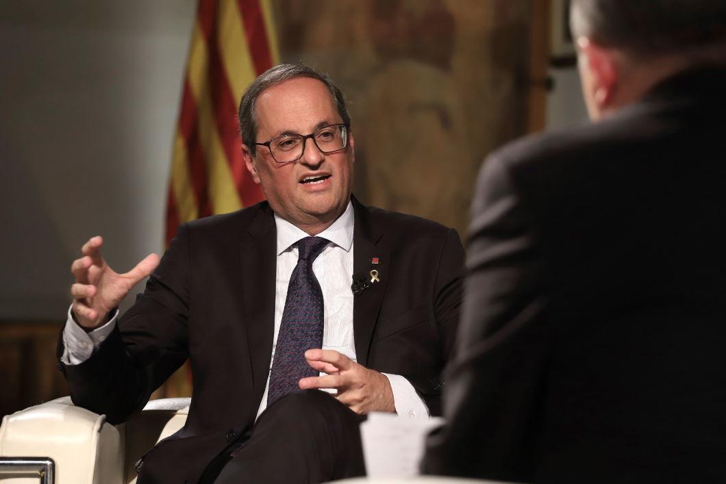 Президент правительства Каталонии Ким Торра. Фото: EPA