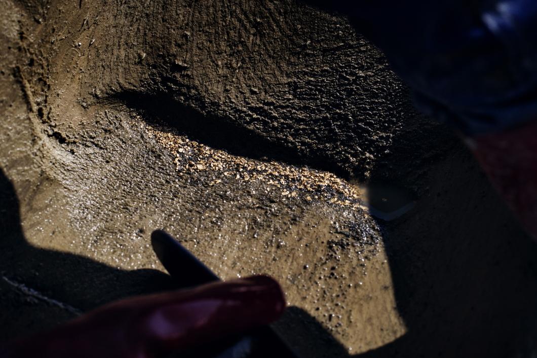 Месторождение золота в Дебине, Магаданская область. Июль 2015 года. Фото: Юрий Козырев, архив «Новой»