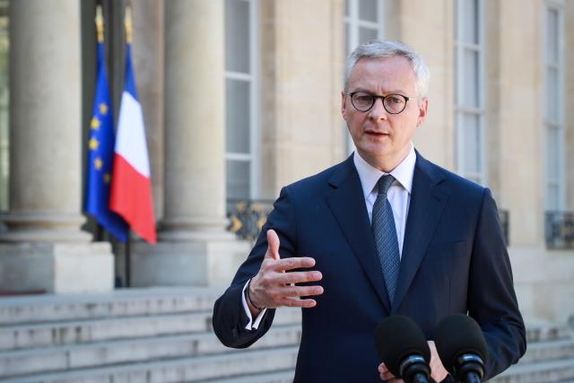 Министр экономики Франции Ле Мэр. Фото: EPA