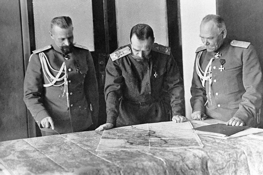 Николай II 1915 год.