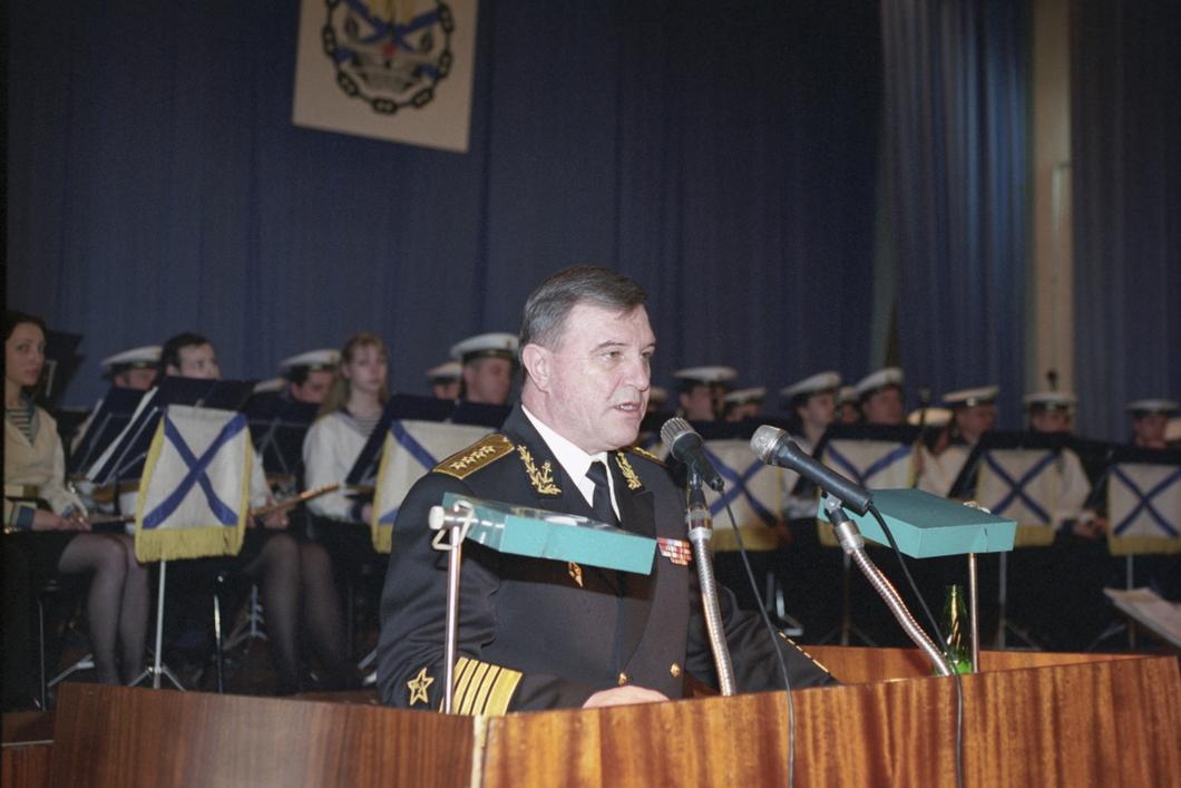 Главком ВМФ адмирал Владимир Куроедов. Фото: РИА Новости