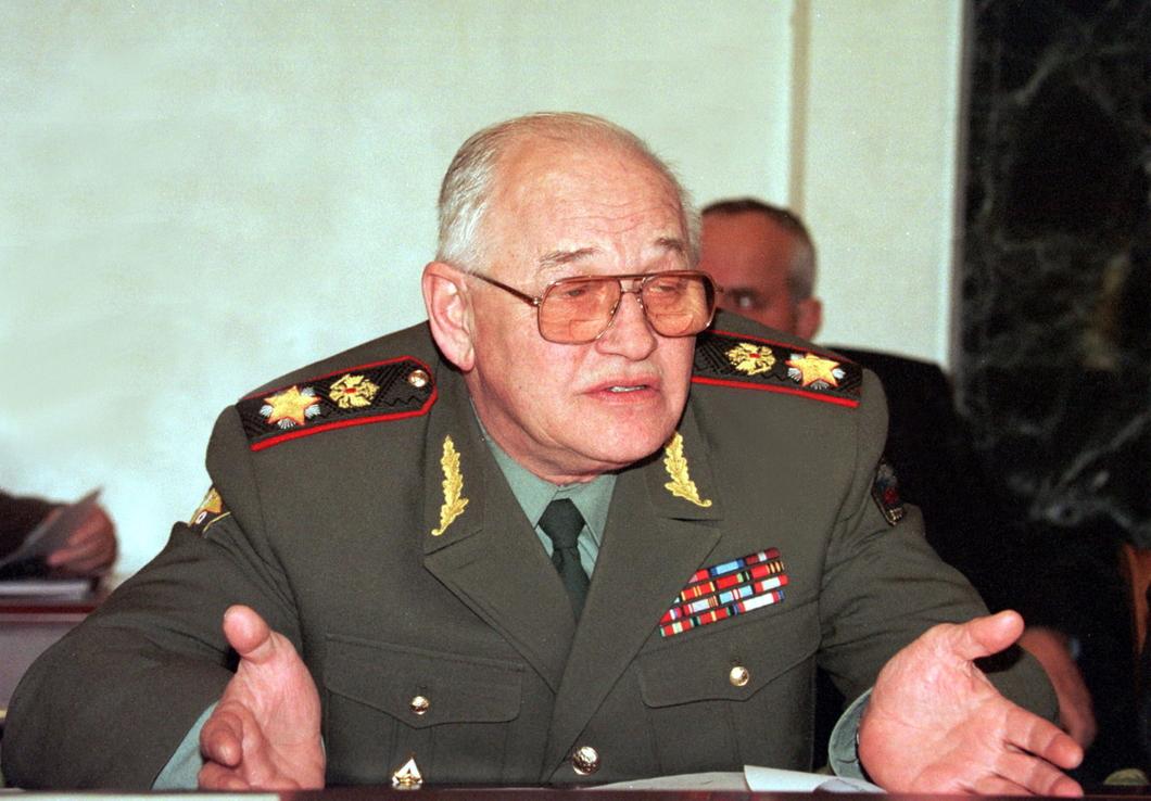 Министр обороны Игорь Сергеев. Фото: Сергей Величкин / ТАСС