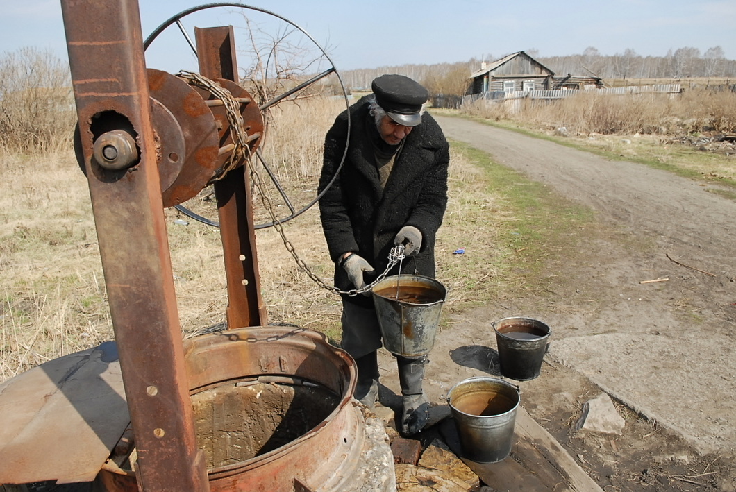 Село Муслюмово, пострадавшее от радиоактивной аварии, сегодня. Фото: РИА Новости