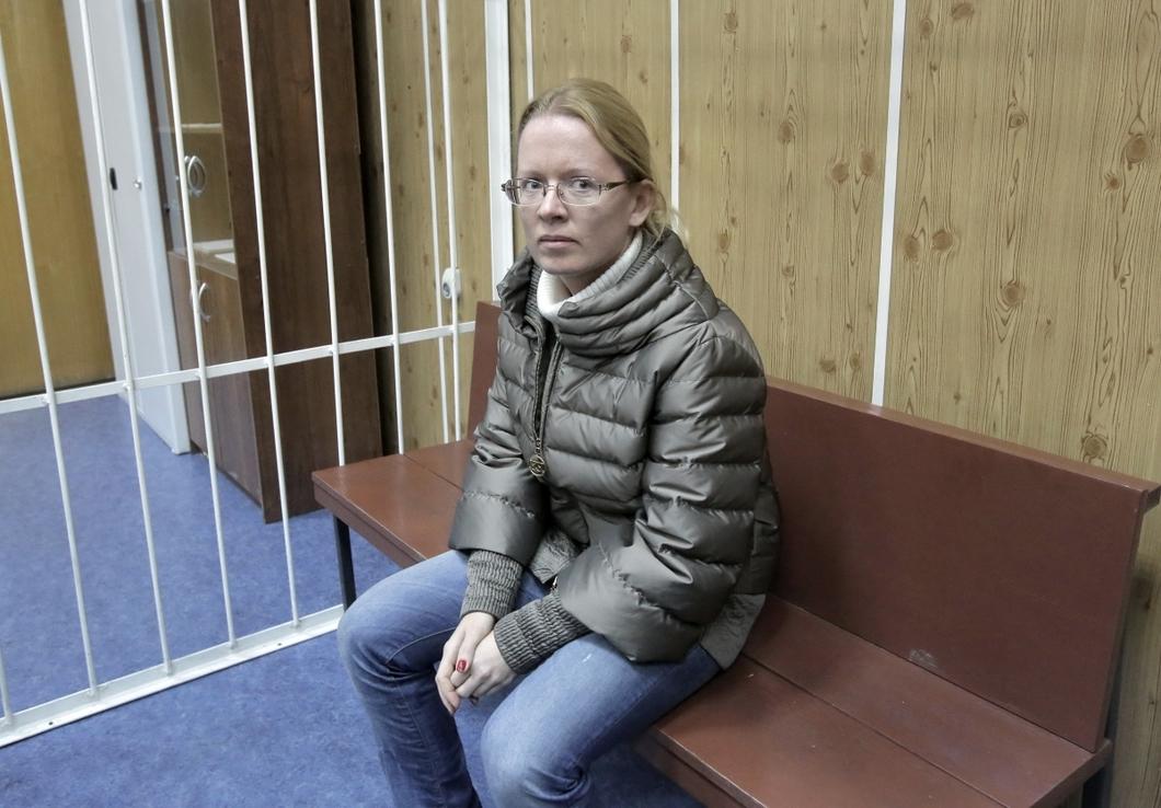 Екатерина Сметанова в суде. Фото: РИА Новости