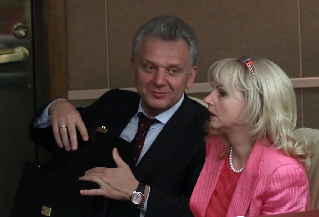 Виктор Христенко и Татьяна Голикова. Фото: РИА Новости