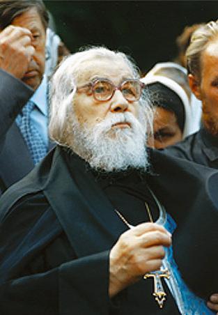 Архимандрит Иоанн (Крестьянкин). Фото: Псково-Печерский монастырь