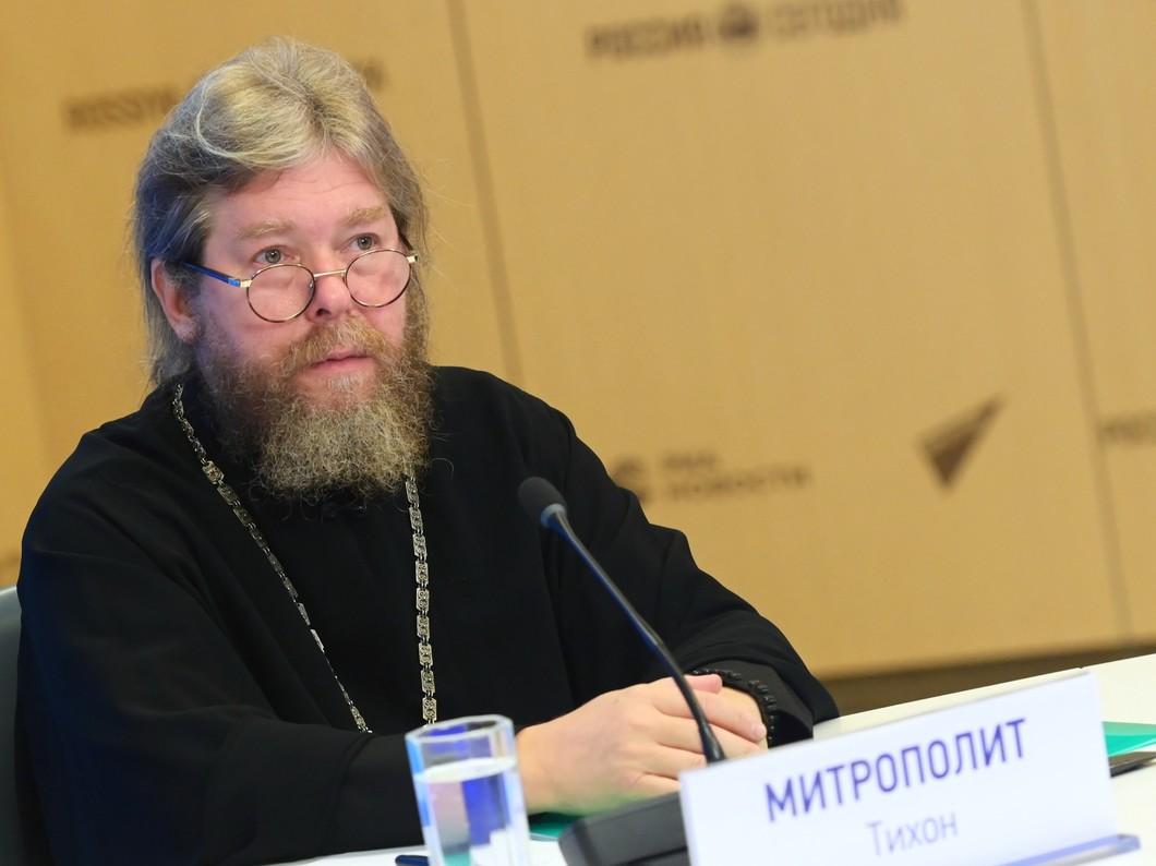 Митрополит Псковский и Порховский Тихон (Шевкунов). Фото: РИА Новости