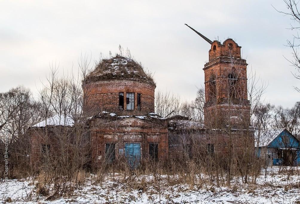 Храм св. великомученика Димитрия Солунского в селе Завалово Тульской области