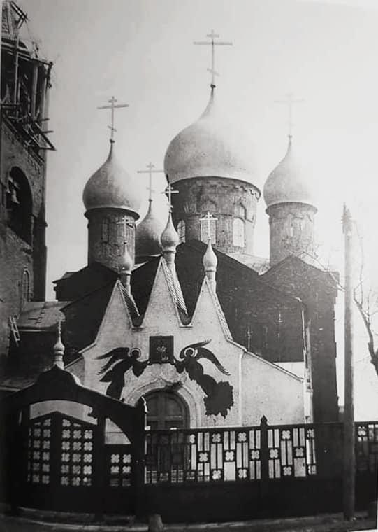 Николо-Рогожский храм на Малой Андроньевской улице в Москве, 1915 год