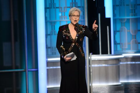 «Либеральная киношница». Почему речь Мерил Стрип на 74-й премии «Золотой глобус» вызвала такой резонанс
