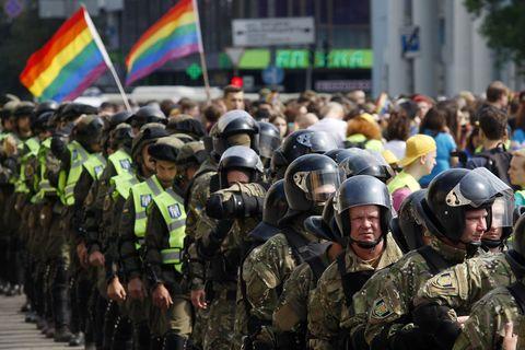Киевская радуга. Как прошел «Марш равенства» в Киеве