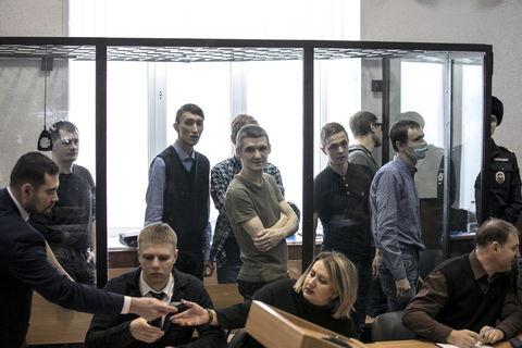 """Картинки по запросу """"Пикет у здания ФСБ в Москве. Фото: Фариза Дударова,"""""""