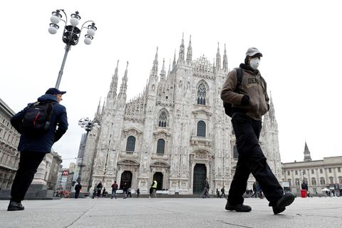 В Италии от коронавируса за сутки скончались 133 человека